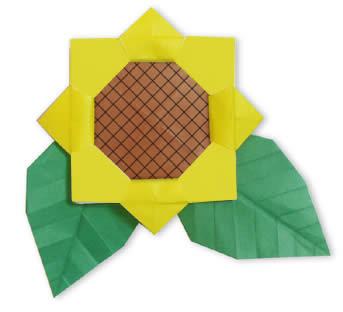 Himawari origami02 44186