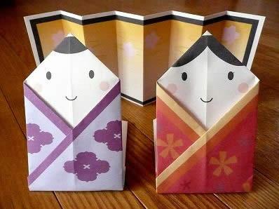 雛人形を簡単手作り!無料型紙 ... : 折り紙 折り方 簡単 幼児 : 幼児